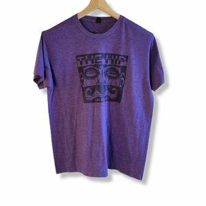 "Purple ""The Hip"" graphic T-Shirt"